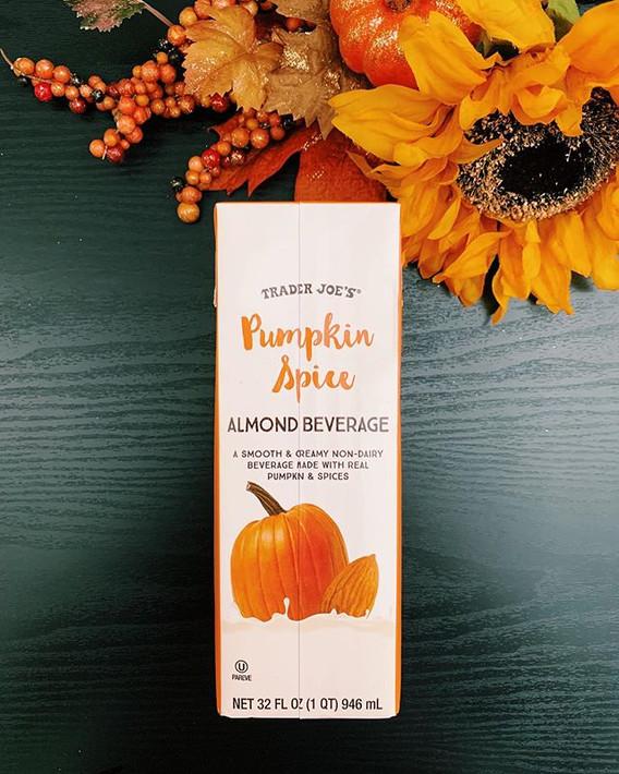 Pumpkin Spice Almond Beverage: 6/10