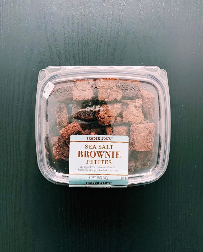 Trader Joe's Sea Salt Brownies