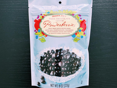 Trader Joe's Dark Chocolate Covered Powerberries Review