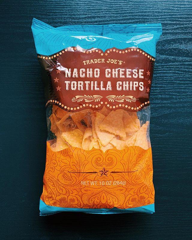 Nacho Cheese Tortilla Chips: 7.5/10