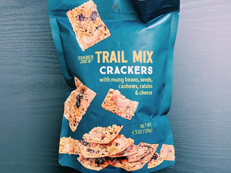 Trader Joe's Trail Mix Crackers Review