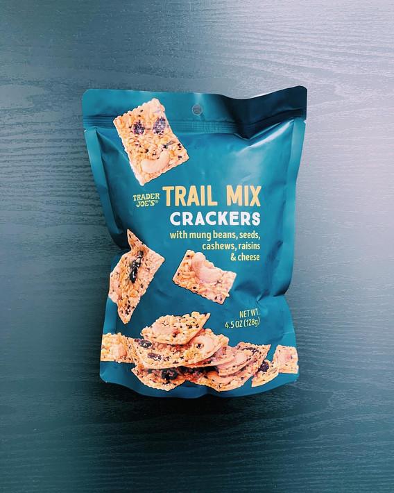 Trail Mix Crackers: 9/10