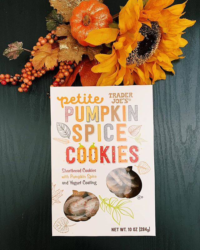 Trader Joe's Pumpkin Spice Cookies