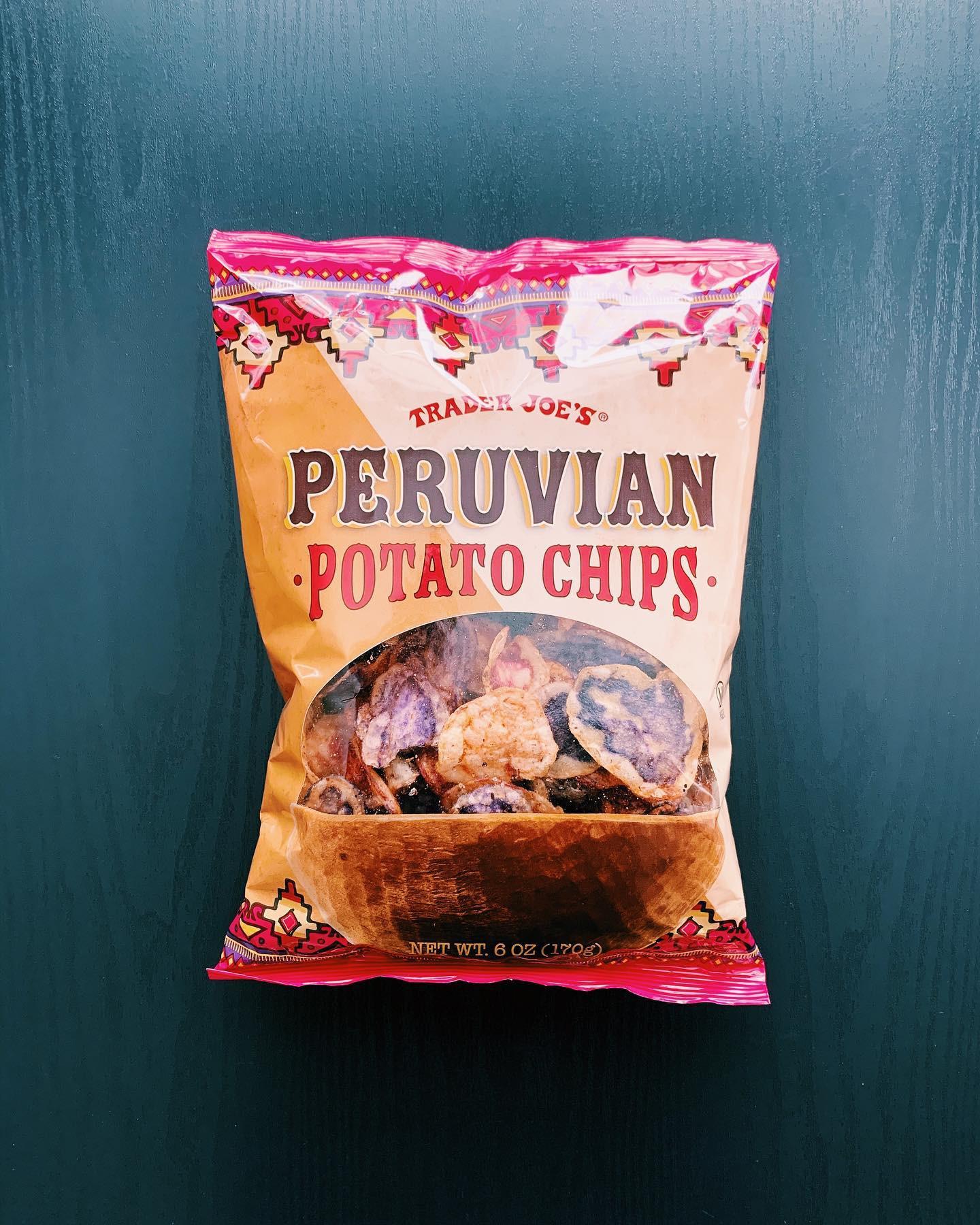 Peruvian Potato Chips: 8/10