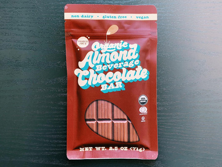 Trader Joe's Almond Beverage Chocolate Bar Review