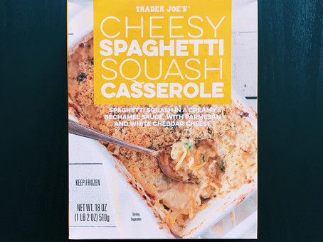 Trader Joe's Cheesy Spaghetti Squash Casserole Review
