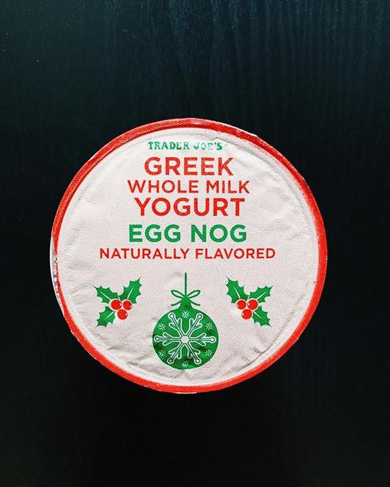 Egg Nog Greek Yogurt: 6.5/10