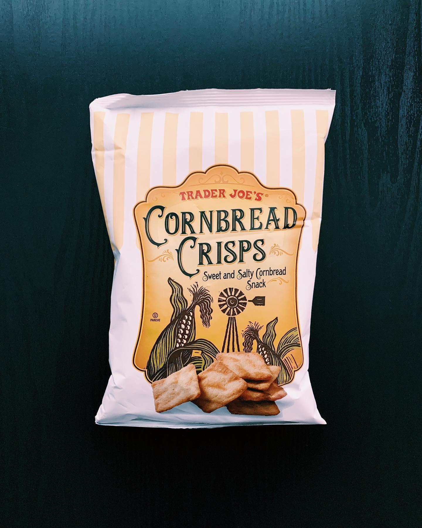 Cornbread Crisps: 8/10