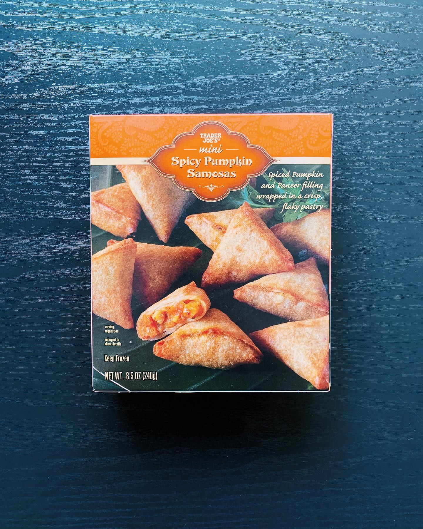 Spicy Pumpkin Samosas: 8.5/10
