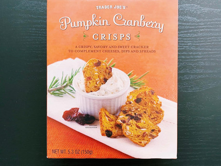 Trader Joe's Pumpkin Cranberry Crisps Review