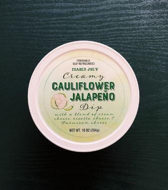 Trader Joe's Creamy Cauliflower Jalapeno Dip