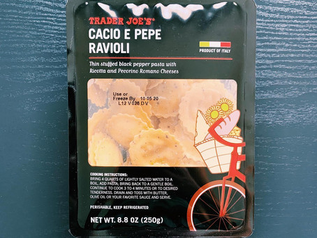 Trader Joe's Cacio e Pepe Ravioli Review