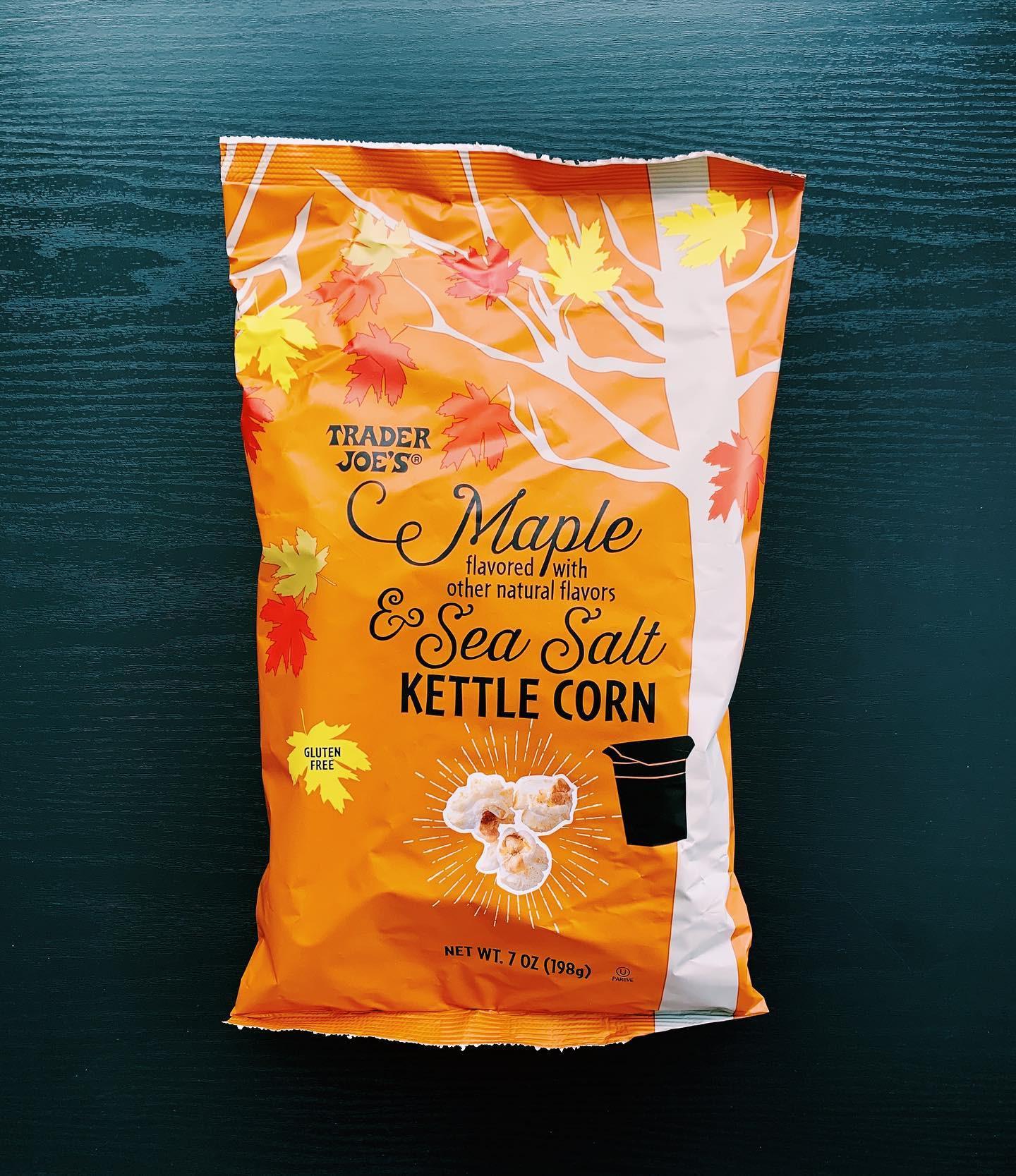 Maple and Sea Salt Kettle Corn: 9/10