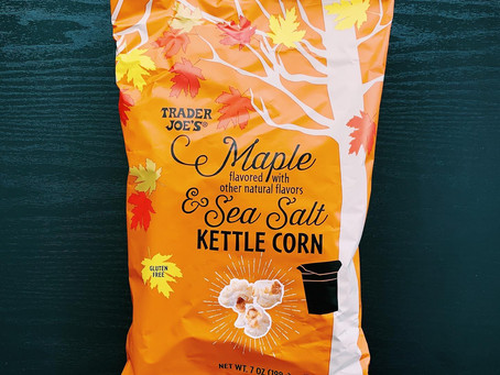 Trader Joe's Maple and Sea Salt Kettle Corn Review