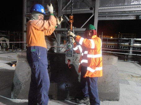 PNG Midnight Fixed Crane Load Testing
