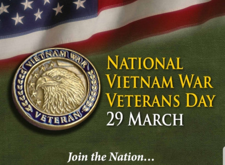 Join Our Nation In Thanking A Vietnam Veteran For Their Service To Our Nation