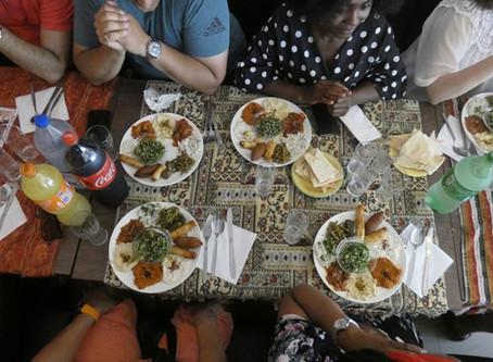 MeetUps with Vanessa Defournier at Syriously Restaurant