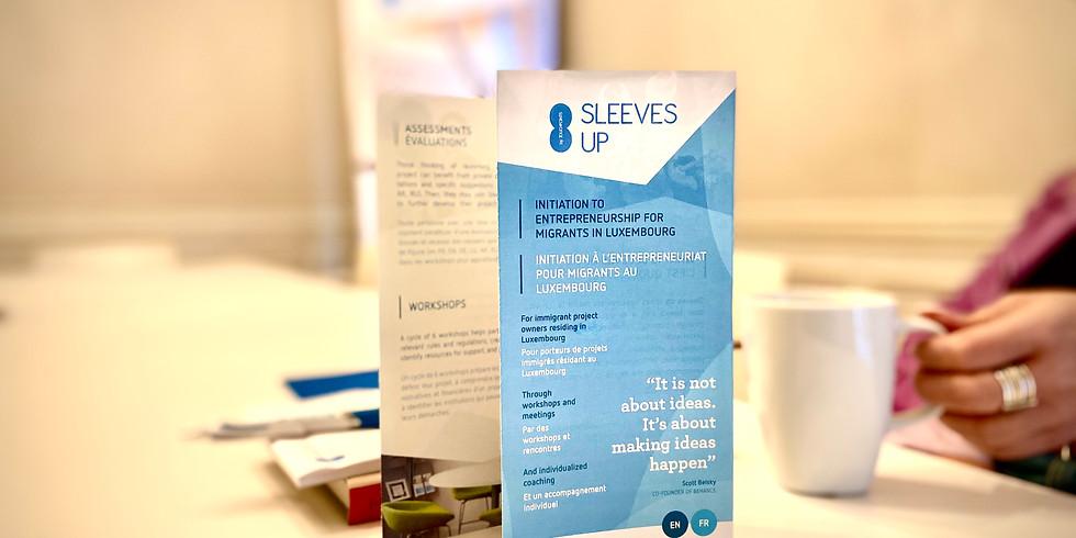 Sleeves Up Workshop - English