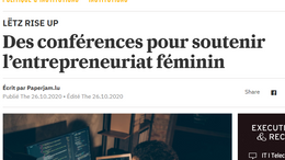 Des conférences pour soutenir l'entrepreneuriat féminin