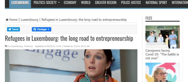 Devenir entrepreneur a parfois tout du parcours du combattant, d'autant plus pour les réfugiés.