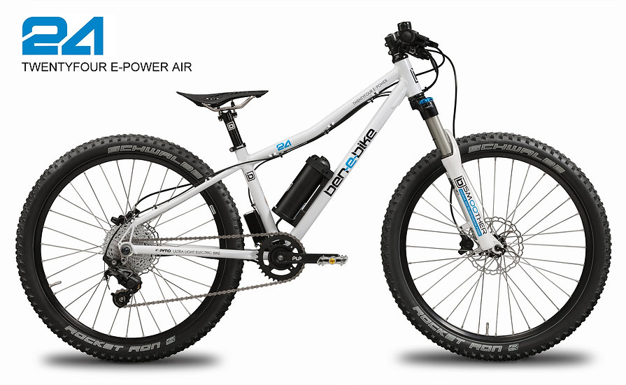 TWENTYFOUR E-POWER AIR, Kinder-E-Bike, Pedelec for kids