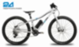 TWENTYFOUR E-POWER, Kinder-E-Bike, Pedelec for kids