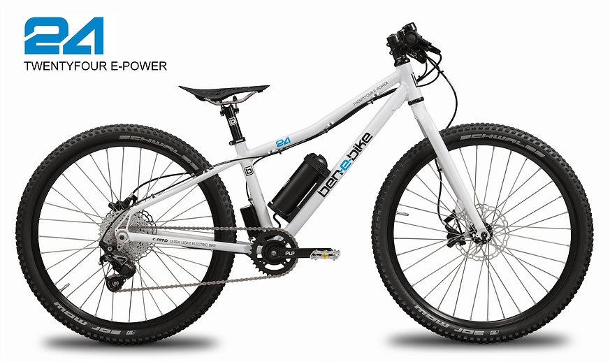 TWENTYFOUR E-POWER, Kinder-E-Bike, Pedelec for kids