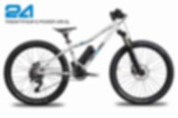 TWENTYFOUR E-POWER AIR-SL, Kinder-E-Bike, Pedelec for kids