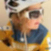 Testfahrerin Ben-E-Bike