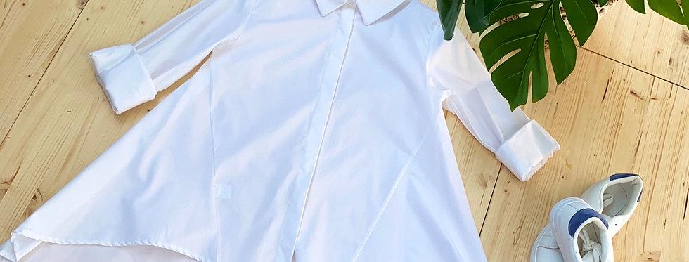 Camicia bianca a