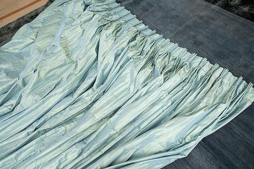 Custom Silk Drapes