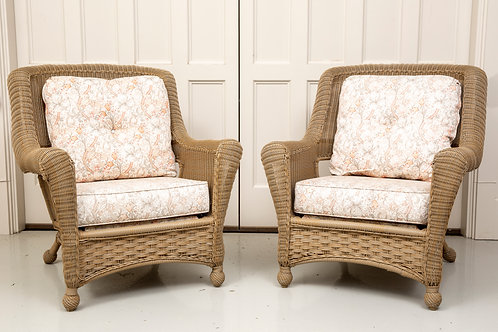 All-weather Woven Wicker Chairs