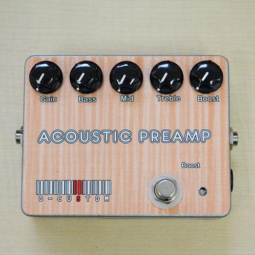 【生産完了品】 D-CUSTOM GUITAR Acoustic Preamp