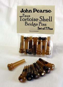 John Pearse Faux Tortoise Shell Bridge Pins