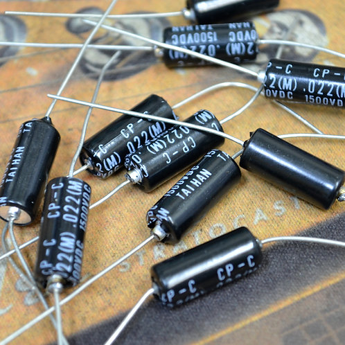 Taihan Black Bee Paper-In-Oil Capacitor .022 1500V