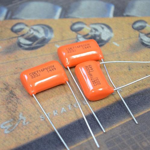 Orange Drop 716P 600V 0.022µF