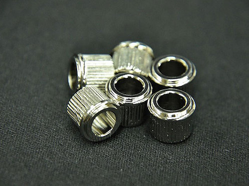 ADAPTER BUSHINGS (SET 6) (1/4 inch ID) Nickel