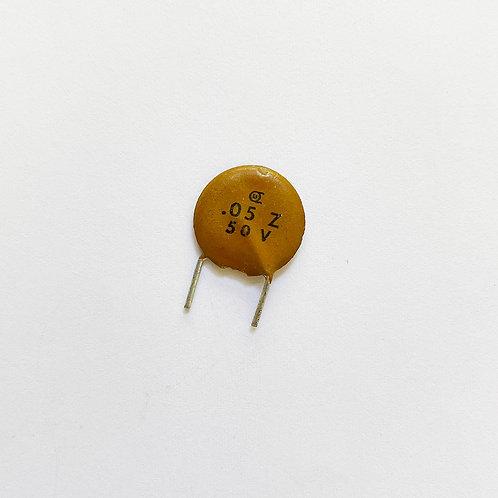 Diecton 50V 0.05µF(フォーミングリードS)