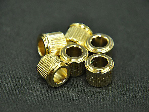 ADAPTER BUSHINGS (SET 6) (1/4 inch ID) Gold