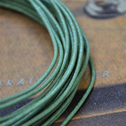 Western Electric 22AWG 年式不明 緑/青ストライプ