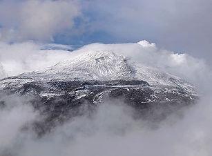 A nice view of the Nevado del Ruiz volca