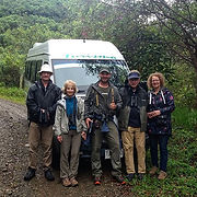 Birding with wonderful people in great s