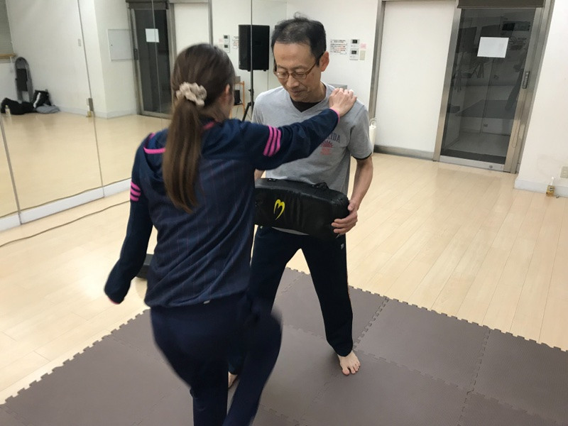 護身術練習