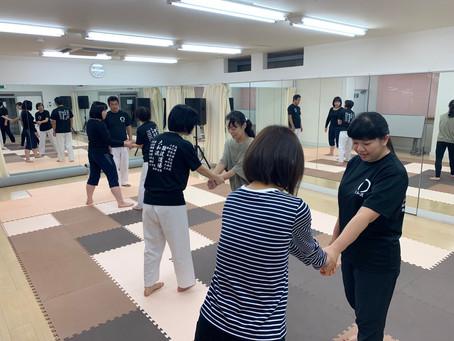 11月11日難波教室~ゆっくり技を掛ける~