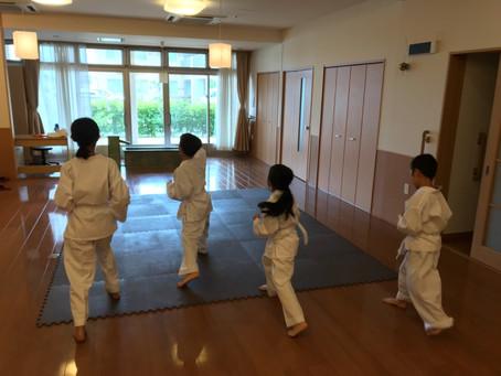 6月9日香芝こども教室~新技を練習しました~