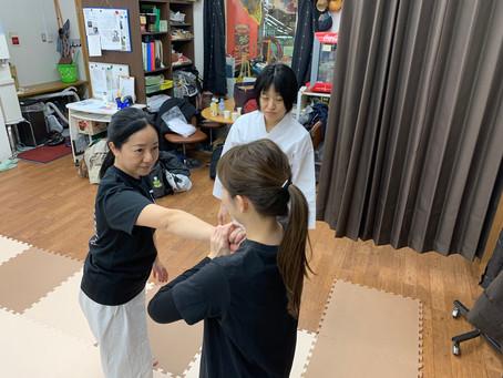 2月7日天王寺教室~支点を意識する練習をしました~