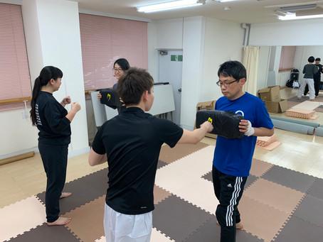 2月10日難波教室~当身の練習~