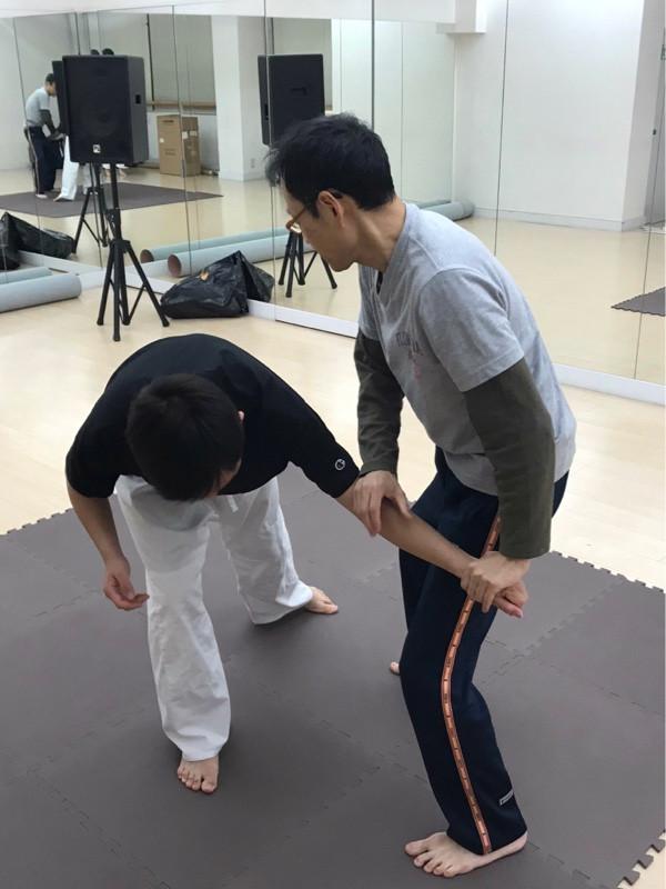 古武術練習