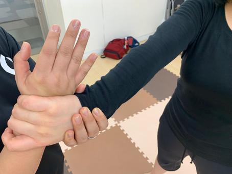 12月23日難波教室~手を掴まれたときの技~