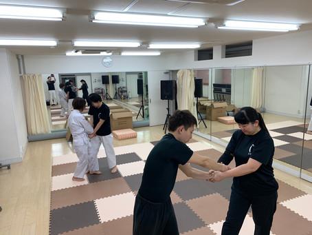 2月3日難波教室~足向きと足幅~